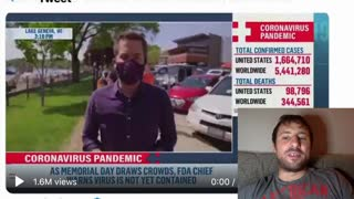 MUST SEE! Passerby Humiliates MSNBC Crew for Their Mask Hypocrisy
