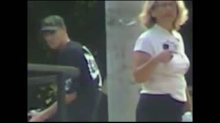 United States #stalkers getting caught on camera waiting for the target to leave her house