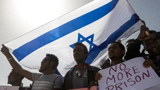 Israel's orchestrating all these events worldwide but take a look how they treat blacks in Israel