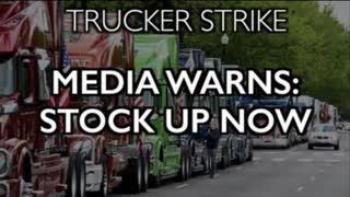 """Trucker Strike: Media Warns """"Stock Up Now"""" - Shortages Coming"""