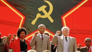 history is a Lie the Jews were working beside Nelson Mandela wake up the Jews control the media