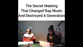 ZIONIST AGENDA THE SECRET MEETING THAT CHANGED RAP MUSIC AND DESTROYED A GENERATION