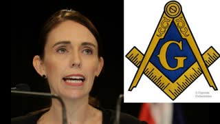 Jacinda Ardern New Zealand prime minister a freemason Exposed! in 7 minutes or less PLEASE SHARE!