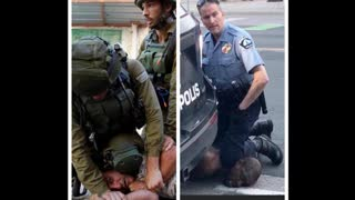 wake up the United States police trained in Israel order out of chaos the Zionist plan