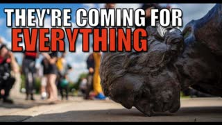TEAR DOWN JESUS CHRIST & FOUNDING FATHERS STATUES | AGENDA 2030 GLOBAL COMMUNISM IN PLAY