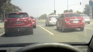 a must watch the amount of stalkers that surround gangstalking Australia when he's driving Melbourne