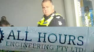 Zionist run organised gang stalking a worldwide program police doing assignments Melbourne