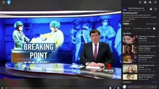 7 news Melbourne BUSTED faking news footage! Blatant fear mongering wake up the virus is fake