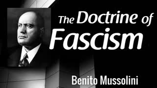 The Doctrine of Fascism by Benito Mussolini | full audiobook