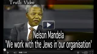"""Nelson Mandela """"We work with the Jews in our organisation"""""""