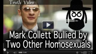 Mark Collett Bullied by Two Other Homosexuals