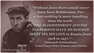 'Without Jews there would never have been Bolshevism