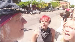 Encountering Marxist Anti-White Propagandists (BLM) On The Way To Coffee