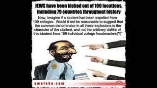 109 Locations Jews Have Been Expelled