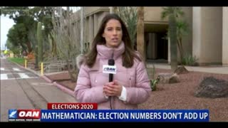 Mathematician Points Out Anomalies in the Election results. #CntrlCtheCntrlV