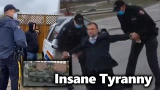 EVIL Tyranny Continues: Canadian Pastor Arrested On Busy Highway In Rain; Shop Owner Arrested