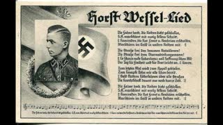 Horst Wessel Lied - Third Reich Anthem (With Footage And Subtitles)