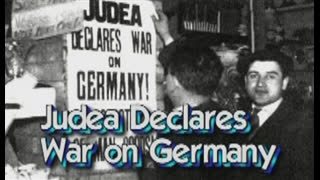 Jewry declares War on Germany (an act of war and aggression)