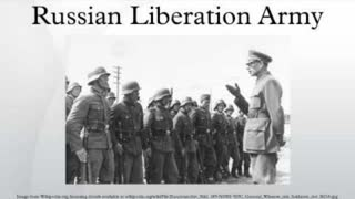 Russians who fought with National-Socialist Germany against Jewish Bolshevism