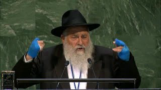"""[KVETCHING WARNING] """"Antisemitism is not a Jewish problem, it's a problem for the world"""" - Rabbi Yisroel Goldstein"""