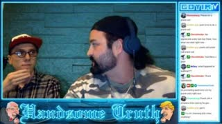 """Handsome Truth Speaks With ChuckThemClouds On The """"Name The Nose Tour"""" Late-Night Lounging Stream"""
