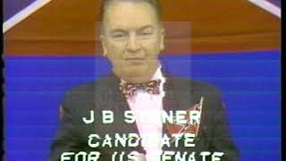 """**WARNING FOR CONTENT**J.B. Stoner [Democratic] 1972 Campaign Ad """"Racist-Candidate"""""""