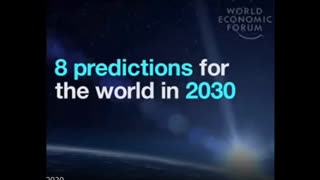 8 Predictions for 2030 According to the World Economic Forum