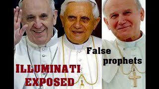 Pope Francis and other popes of the Catholic Church: ILLUMINATI EXPOSED - satanic signs 2016