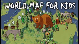 World Map by Plasma Moon for Kids