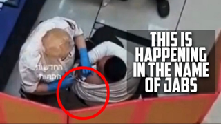 THIS IS HOW ZIONIST(JEW) GOT HIS JAB-WHEN DOCTOR SAW HE IS A ZION JEW, DIDN'T GAVE HIM JAB