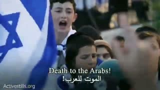 """Jews call for genocide of Muslims and Arabs 