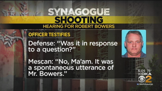 Officer: Accused Tree Of Life Synagogue Shooter Robert Bowers Talked Of Killing Jews