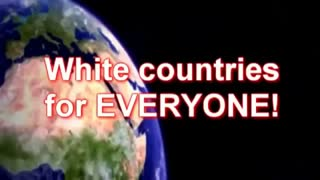 Anti-Racist is a code word for Anti-White - The Anthem