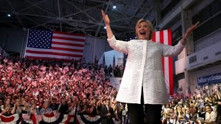 Hillary Clinton on glass ceilings in 2008 and 2016