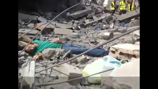 Israeli Snipers Killing Wounded Palestinian Civilian