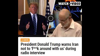 """Rush Limbaugh President Trump On IRAN   """"F"""" AROUND AND FIND OUT !!!"""