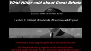 What Hitler said about Great Britain