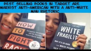 Best Selling Books in Target are Marxist Anti-American with a Anti-White Man Rhetoric