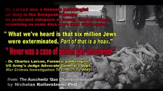 Israeli Holocaust Museum - There's No Physical Evidence of the Holocaust