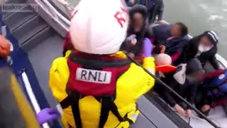 THE RNLI aiding and abetting Illegal Immigration!