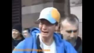 """Black guy Chants """"Heil Hitler"""" and denies the Holocaust at jew"""