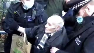 """""""THIS IS ENGLAND 2021"""" BRITISH POLICE ARREST 92 YEAR OLD MAN"""