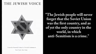 Why are people afraid of the facts about the Jews?