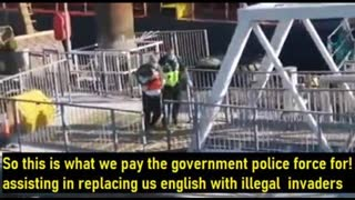 Authorities illegally helping illegals into UK and telling you your not allowed to record evidence
