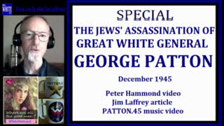 The jew Assassination of Great White General George Patton