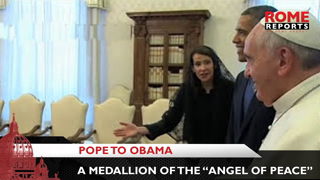 Pope to Obama: This gift isn't from the 'Pope' but from Jorge Mario Bergoglio