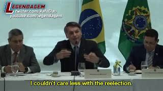 Bolsonaro goes on a rant about governors and mayors arresting citizens.