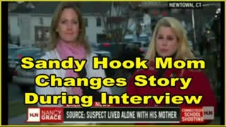 Sandy Hook Mom Changes Her Story During Interview