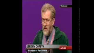 Jeremy Corbyn on foreign policy at Labour Conference  (2003)