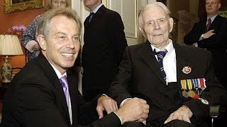 When war criminal Tony Blair met Harry Patch